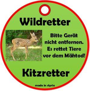Kitz-, Wildrettung und Wildvergrämung Nano/
